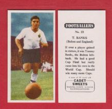 Bolton Wanderers Tommy Banks England